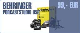 Behringer Podcastudio USB