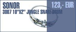 """Sonor Select 10""""x2"""" Jungle Snare"""