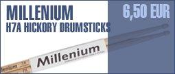 Millenium H7A Hickory Sticks -Wood-