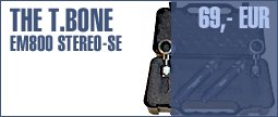 the t.bone EM 800 Stereo Set