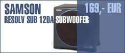 Samson Resolv Sub 120A Subwoofer