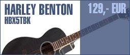 Harley Benton HBX5T BK
