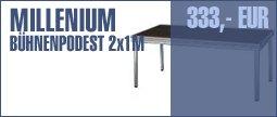 Millenium Stage Platform 2,0 x 1,0m ODL