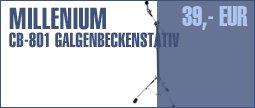 Millenium CB-801 Pro Series Boom Stand