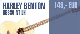 Harley Benton B-30 NT LH