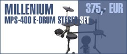Millenium MPS-400 E-Drum Stereo Set