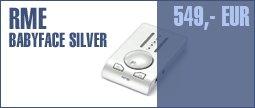 RME Babyface Silver