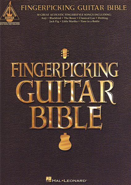 Fingerpicking Guitar Bible Hal Leonard