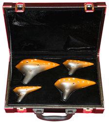 10H Ocarina 4 pieces Set Thomann