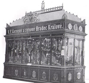 Cerveny World Exposition Prag