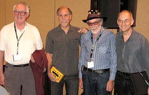 Tom Oberheim, Dave Smith, Don Buchla, Roger Linn