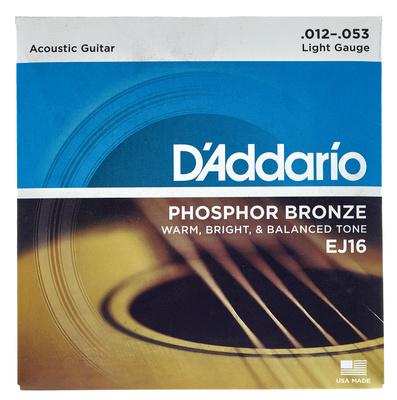 Daddario EJ16 Saiten für Westerngitarre