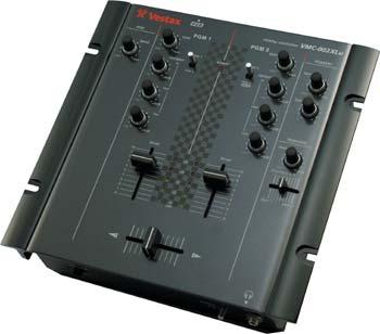 Vestax VMC - 002 XLU 2-Kanal Battle Mixer schwarz