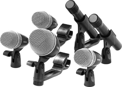 Shure PGDMK6-XLR Drum-Mikrofon-Set