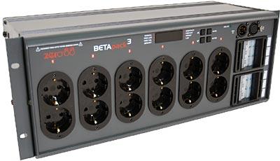 Zero 88 Betapak 3 German Plugs DMX