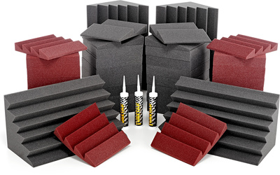 Auralex Acoustics Roominators Alpha-DST Burgundy