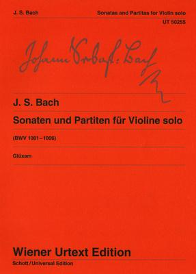Universal Edition Bach Sonaten und Partiten