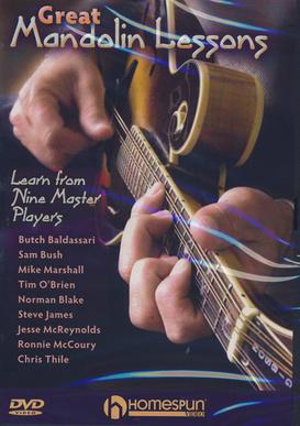 Homespun Great Mandolin Lessons DVD