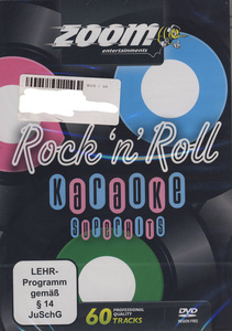 World of Karaoke Karaoke Rock`n Roll Hits DVD