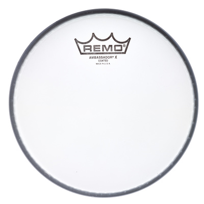 "Remo 12"" Ambassador X Coated"