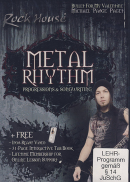Music Sales Metal Rhythm Progressions
