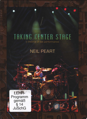 Hal Leonard Neil Peart Taking Center Stage
