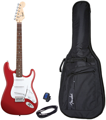 Fender Squier Bullet Strat RW FRD Set