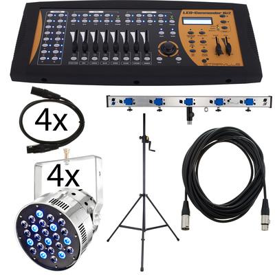 Stairville LED Par56 Pro 24x3W Pol Bundle