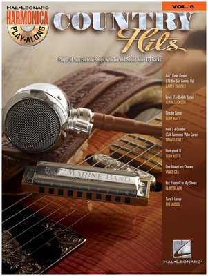 Hal Leonard Harmonica Play Country Hits