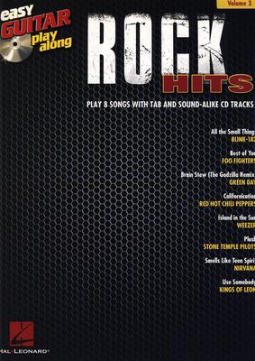 Hal Leonard Easy Guitar Play-Along Rock