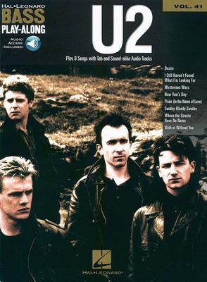 Hal Leonard Bass Play Along U2 Vol.41