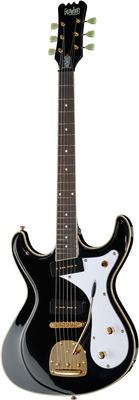 Eastwood Guitars Sidejack DLX BK